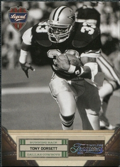 2011 Panini Timeless Treasures Silver #123 Tony Dorsett /99