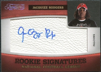 2011 Panini Timeless Treasures Silver #165 Jacquizz Rodgers Autograph /25