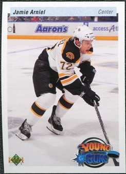 2010/11 Upper Deck 20th Anniversary Variation #454 Jamie Arniel YG