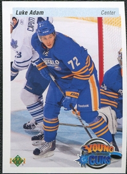 2010/11 Upper Deck 20th Anniversary Variation #457 Luke Adam YG