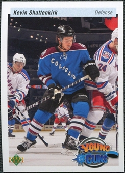 2010/11 Upper Deck 20th Anniversary Variation #464 Kevin Shattenkirk YG