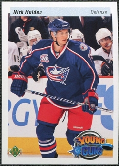 2010/11 Upper Deck 20th Anniversary Variation #465 Nick Holden YG RC