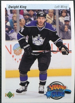 2010/11 Upper Deck 20th Anniversary Variation #467 Dwight King YG RC