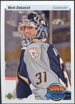2010/11 Upper Deck 20th Anniversary Variation #472 Mark Dekanich YG