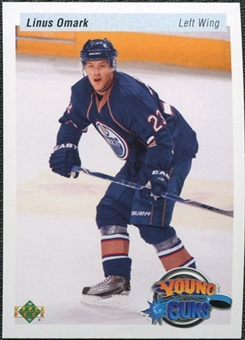 2010/11 Upper Deck 20th Anniversary Variation #486 Linus Omark YG RC