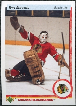 2010/11 Upper Deck 20th Anniversary Variation #507 Tony Esposito
