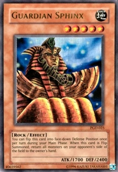 Yu-Gi-Oh Pharaonic Guardian Single Guardian Sphinx Ultra Rare (PGD-025)
