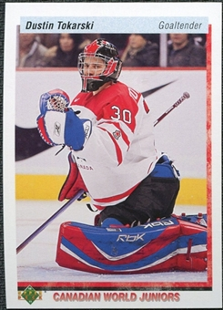 2010/11 Upper Deck 20th Anniversary Variation #539 Dustin Tokarski CWJ