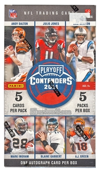 2011 Panini Contenders Football 5-Pack Box (1 Auto Per Box!)