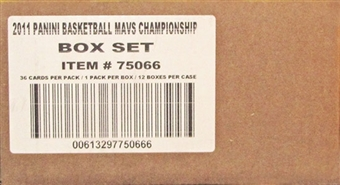 2010/11 Panini Basketball Dallas Mavericks Champions Set (Box) Case (12 Sets)