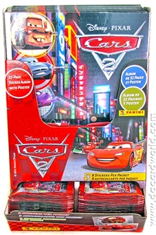 2010/11 Panini Cars 2 Sticker Album and Packs