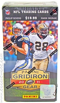 2011 Panini Gridiron Gear Football 8-Pack Box - KAEPERNICK AND NEWTON ROOKIES!