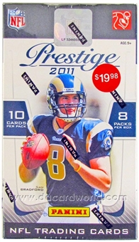 2011 Panini Prestige Football 8-Pack Box - CAM NEWTON !!!