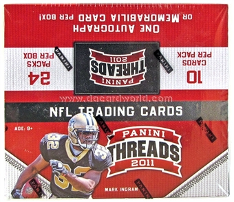 2011 Panini Threads Football 24-Pack Box