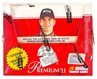 2011 Press Pass Premium Racing Fast Pass Hobby Box