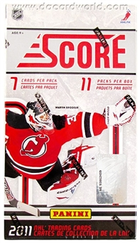2011/12 Score Hockey 11-Pack Box