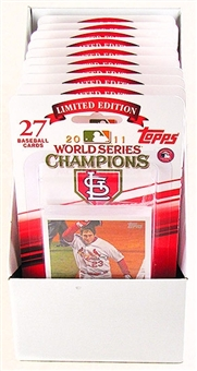 2011 Topps World Series Champions Baseball Box (10 Sets) (St. Louis Cardinals)