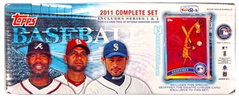 2011 Topps Factory Set Baseball Retail (Box)