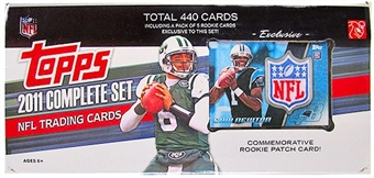 2011 Topps Factory Set Football Box (Cam Newton Rookie Patch Card!!)