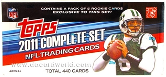 2011 Topps Factory Set Football (Box) Set - Newton RC!
