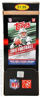 2011 Topps Football 48-Pack Box