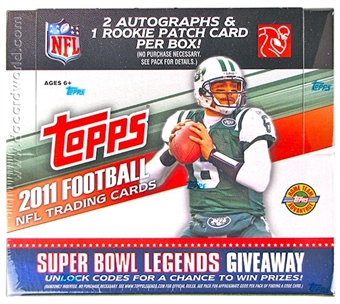 2011 Topps Football Jumbo Box