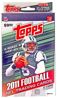 2011 Topps Football Retail Hanger Pack