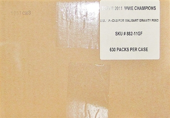 2011 Topps WWE Champions Wrestling Bulk Retail Pack Case (630 Packs)