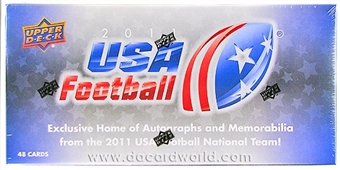2011 Upper Deck USA Football Hobby Box (Set)