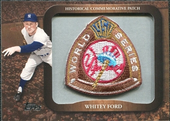 2009 Topps Legends Commemorative Patch #LPR113 Whitey Ford