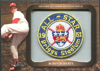 2009 Topps Legends Commemorative Patch #LPR114 Robin Roberts