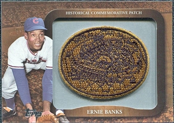 2009 Topps Legends Commemorative Patch #LPR119 Ernie Banks