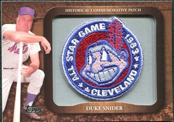 2009 Topps Legends Commemorative Patch #LPR125 Duke Snider