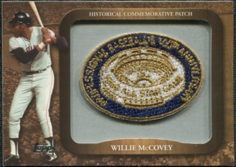 2009 Topps Legends Commemorative Patch #LPR133 Willie McCovey