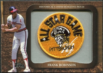 2009 Topps Legends Commemorative Patch #LPR137 Frank Robinson