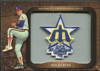 2009 Topps Legends Commemorative Patch #LPR141 Nolan Ryan