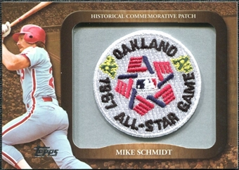 2009 Topps Legends Commemorative Patch #LPR146 Mike Schmidt