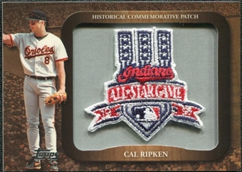 2009 Topps Legends Commemorative Patch #LPR149 Cal Ripken