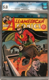 All-American Comics #25 CGC 5.0 (OW-W) *1201021003*