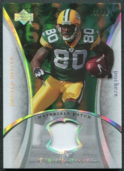 2007 Upper Deck Trilogy Materials Patch #DD Donald Driver /79