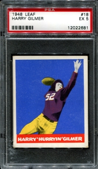 1948 Leaf Football #18 Harry Gilmer PSA 5 (EX) *2681