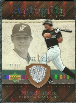 2007 Upper Deck Artifacts Antiquity Artifacts Patch #CA Miguel Cabrera /50