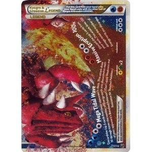 Pokemon Undaunted Single Kyogre & Groudon Legend 88/90 (Bottom)