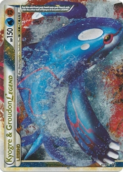 Pokemon Undaunted Single Kyogre & Groudon Legend 87/90 (Top)