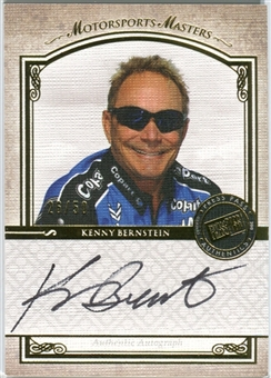 2010 Press Pass Legends Motorsports Masters Autographs Gold #5 Kenny Bernstein Autograph /50