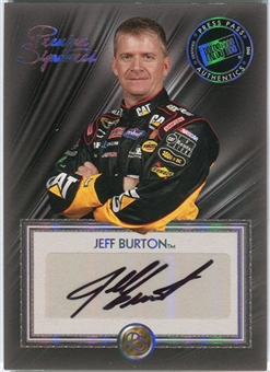 2010 Press Pass Premium Signatures #PSJB Jeff Burton Autograph