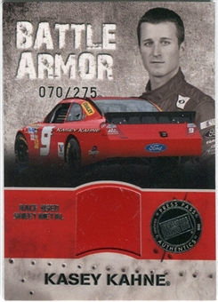 2010 Press Pass Stealth Battle Armor Silver #BAKK Kasey Kahne 70/275