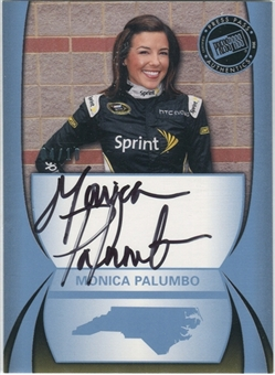 2011 Press Pass Autographs Blue #42 Monica Palumbo Autograph 4/10