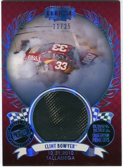 2011 Press Pass Burning Rubber Prime Cuts #BRCCB2 Clint Bowyer Talladega 11/25 Tire