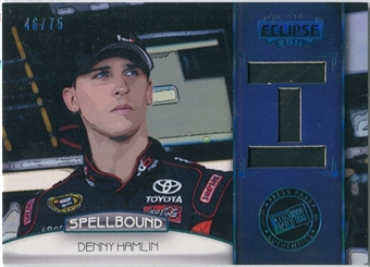 2011 Press Pass Eclipse Spellbound Swatches #SBDH5 Denny Hamlin I /75